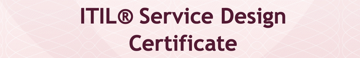 ITIL Diseño Servicio